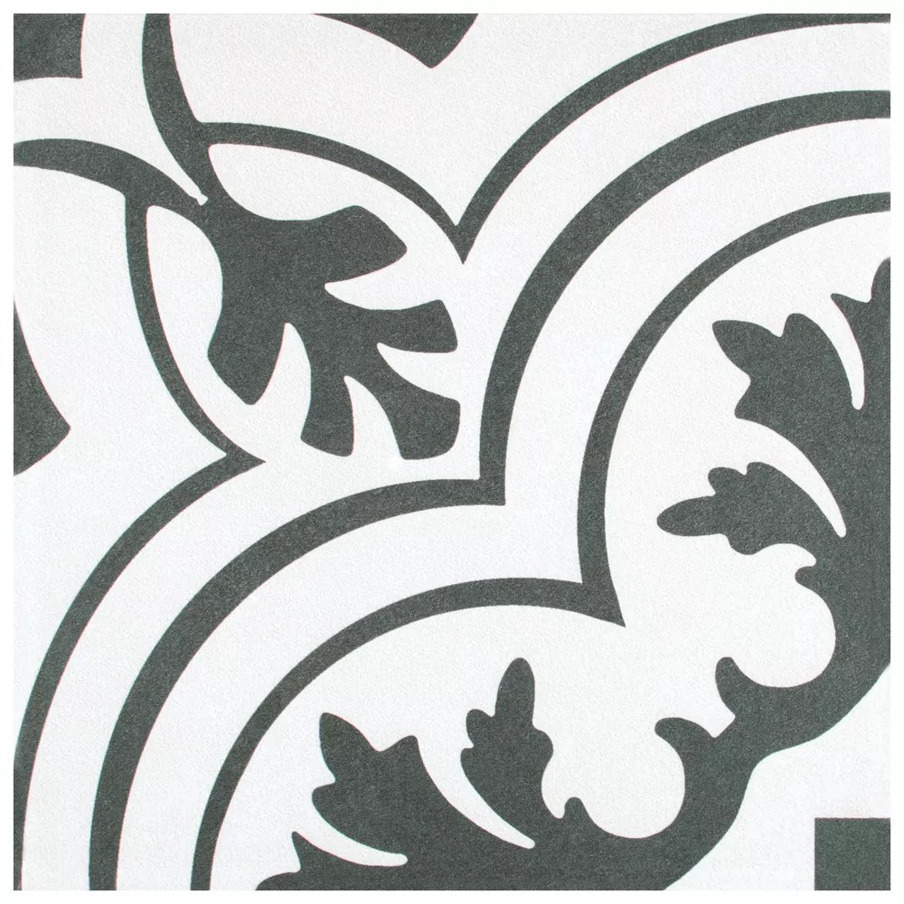 twenties vintage 7 3 4 inch x 7 3 4 inch ceramic floor and wall tile 11 11 sq ft case
