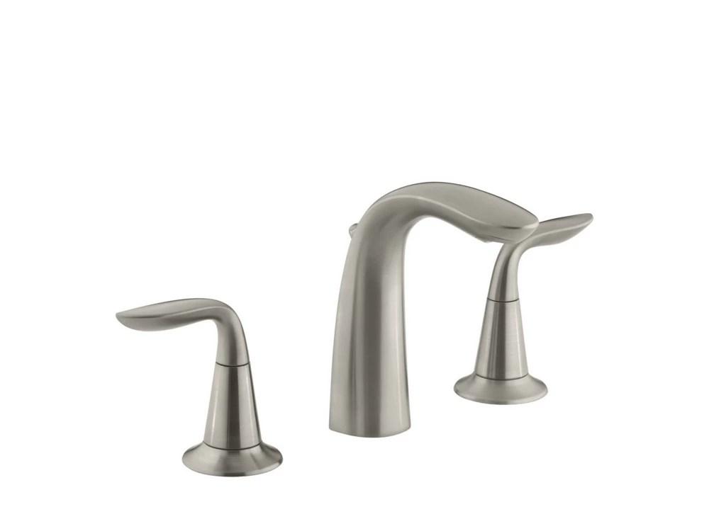 refinia r widespread bathroom sink faucet with lever handles