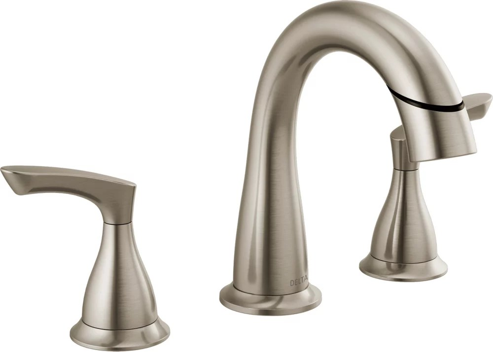 broadmoor two handle widespread pulldown bathroom faucet spotshield brushed nickel