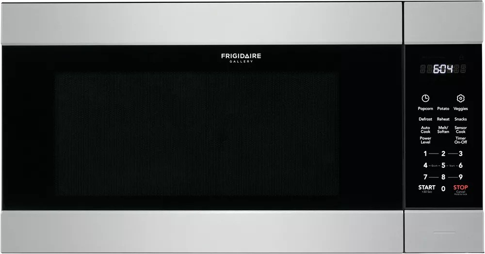 24 inch w 2 2 cu ft built in microwave in smudge proof stainless steel