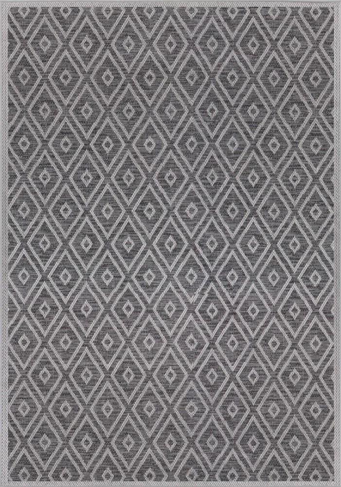 tapis d interieur et d exterieur clyde merton 7 pi 7 po x 10 pi 10 po bleu marine et gris