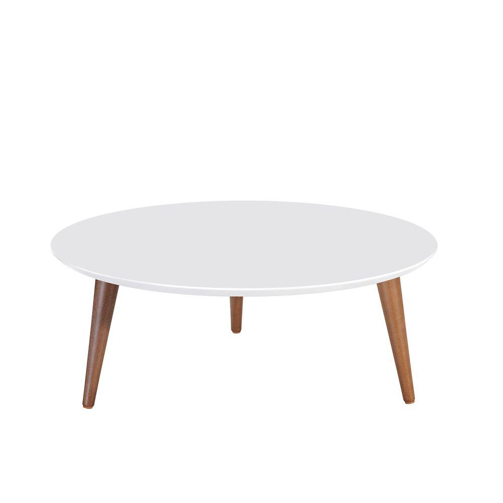 moore 23 62 table basse ronde ronde en blanc