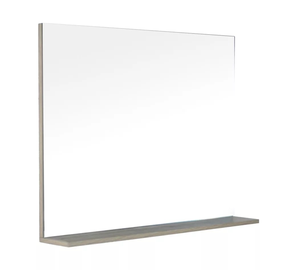 modo david 40 inch miroir de meuble lavabo avec tablette en fini urban