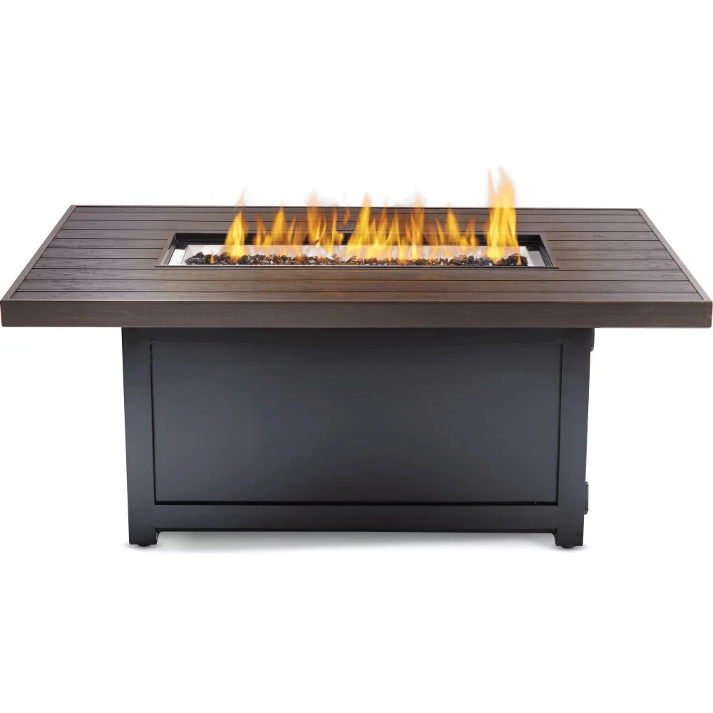 patioflame rectangular muskoka outdoor fire table