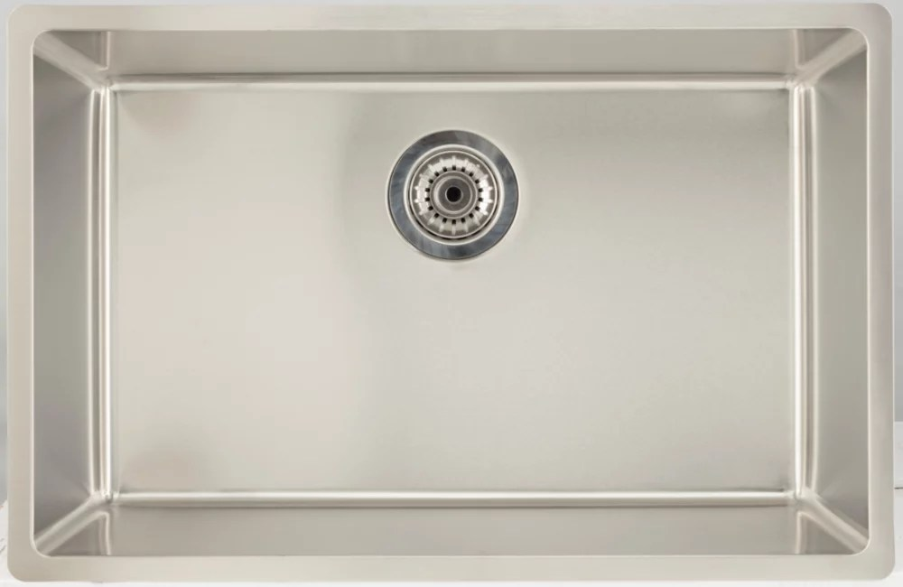 https www homedepot ca product american imaginations 27 inch w single bowl undermount kitchen sink for a deck mount drilling with 2 46 cu ft 1001322042