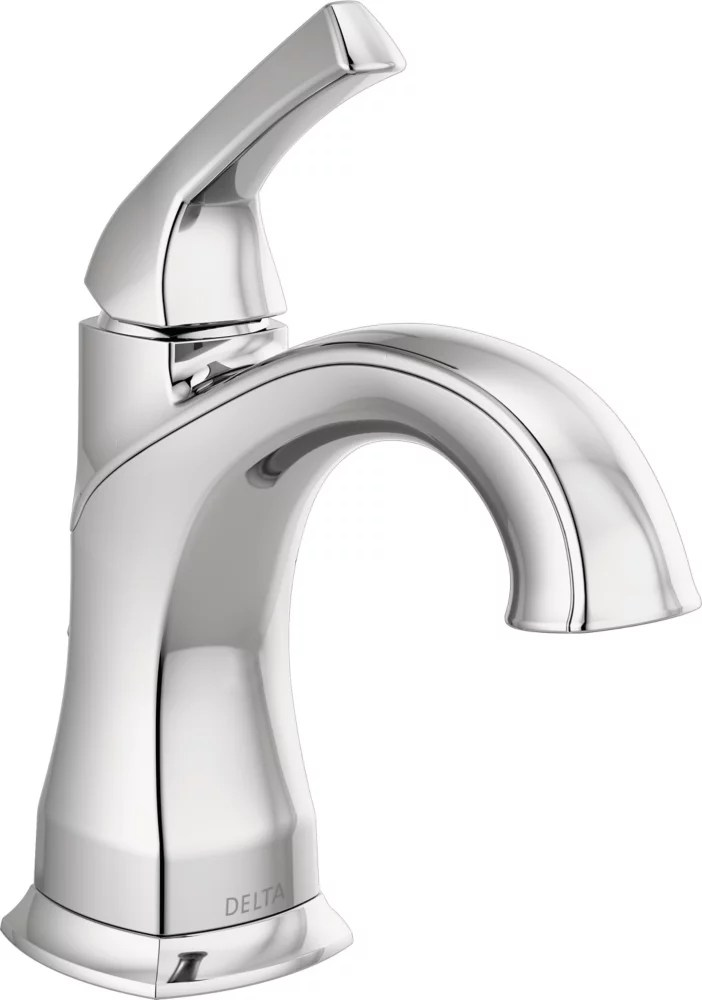 portwood 4 inch centerset single handle bathroom faucet in chrome