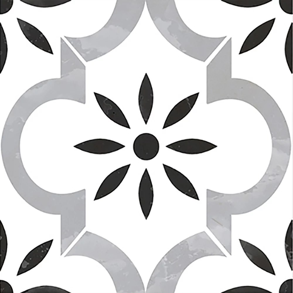 azila 8 inch x 8 inch glazed porcelain floor and wall tile 5 16 sq ft case