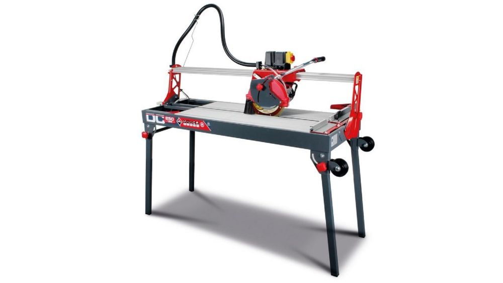 dc 250 1200 120v tile saw with 10 inch blade 48 inch 1200 mm cut