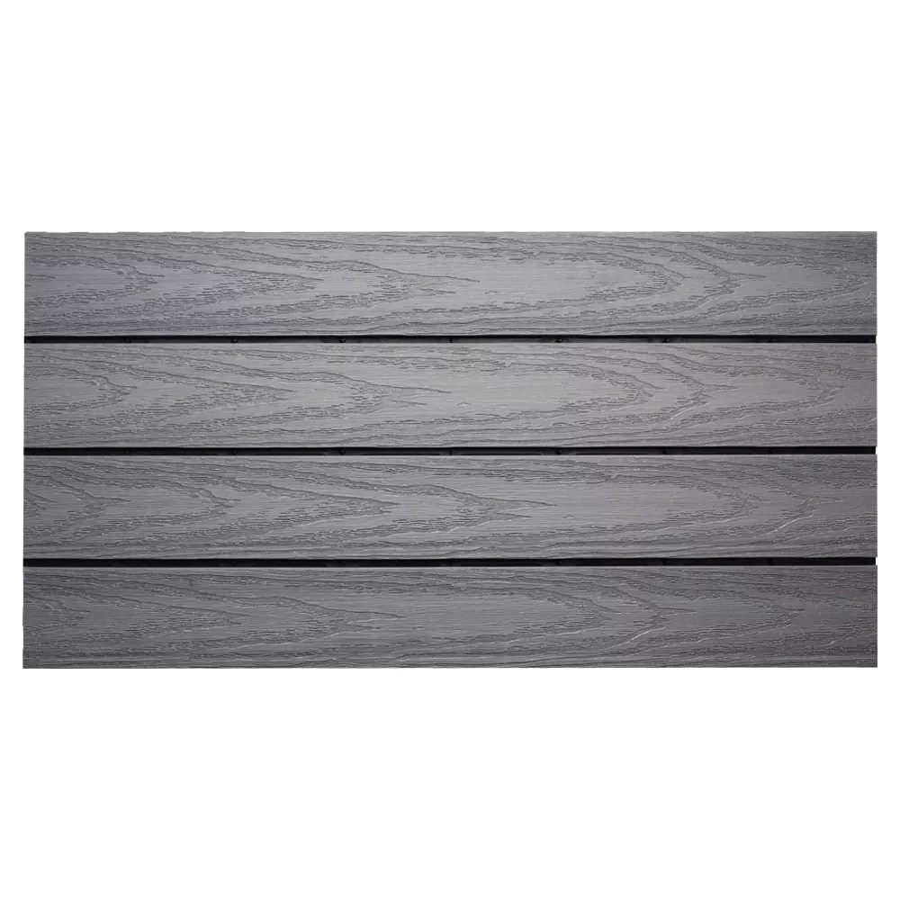 ultrashield naturale 1 ft x 2 ft quick deck composite deck tile in westminster gray 20 sq ft box