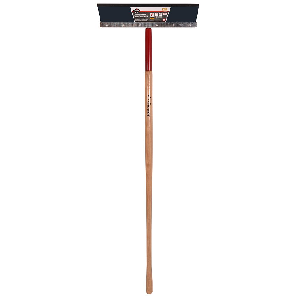 22 inch steel floor scraper with long handle