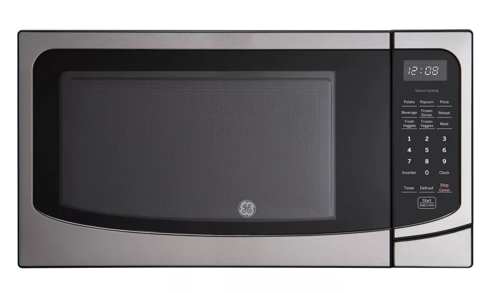 22 inch 1 6 cu ft countertop microwave oven in stainless steel