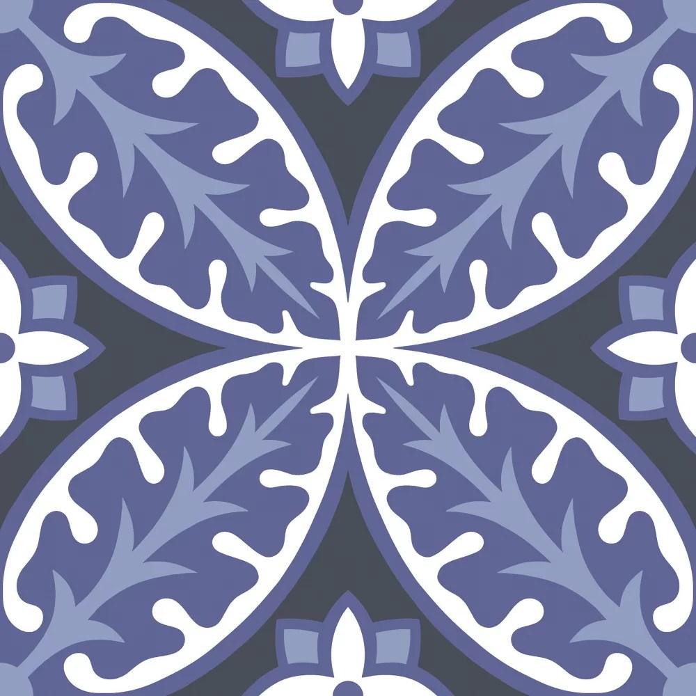 capri peel stick floor tiles set of 20