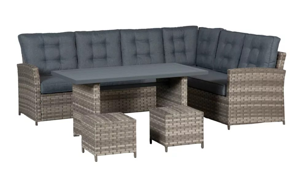 napoli 5pc high table sectional