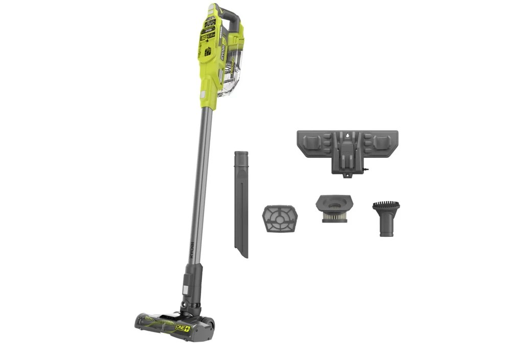 Ryobi 18v One Cordless Compact Stick Vacuum Tool Only The Home Depot Canada