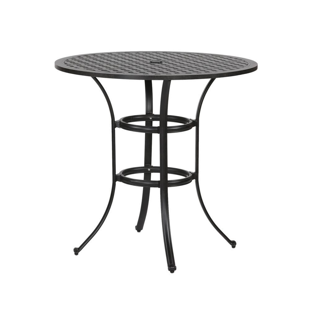table de bar dexterieur pour 4 personnes huron 42 po aluminium moule