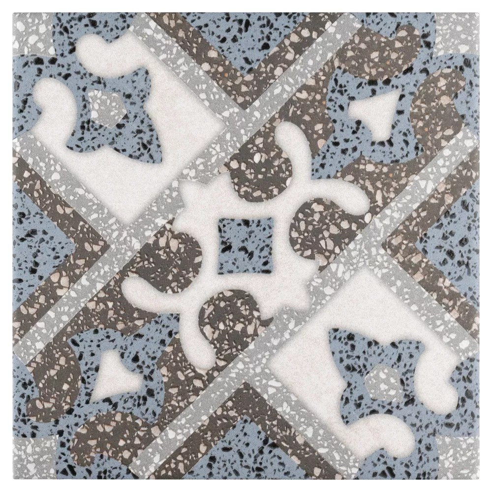 sample atempo palazzo capri 9 7 8 inch x 9 7 8 inch porcelain floor and wall tile