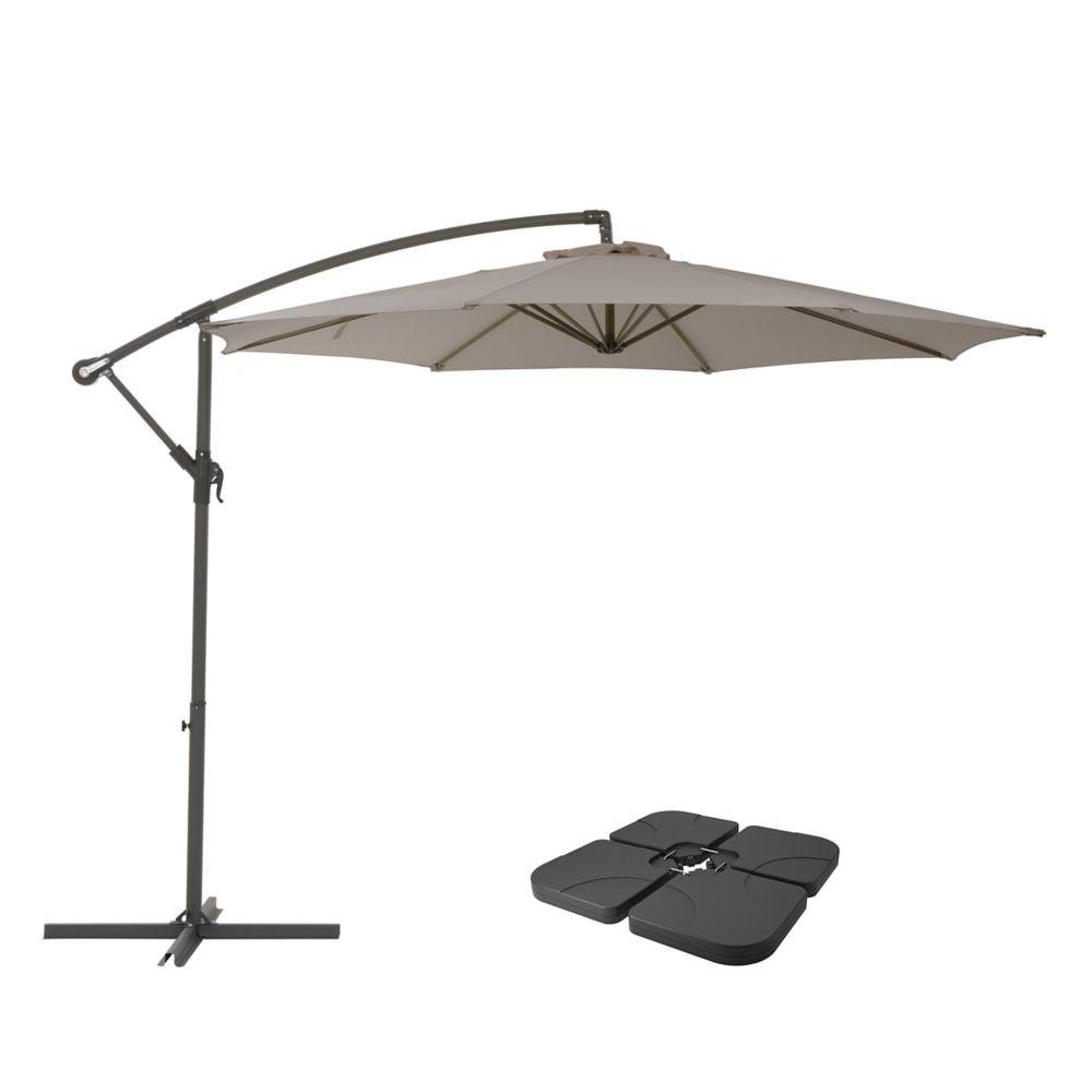 grey umbrella stands bases patio