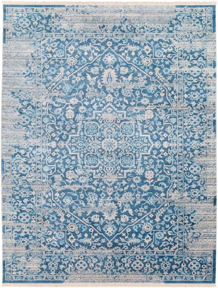 tapis dinterieur 7 pi 10 po x 10 pi 2 po levenhall bleu ciel