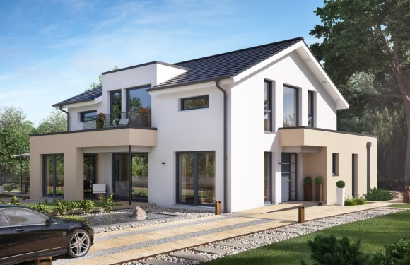 5 Bedrooms Home Plan Concept-M 155