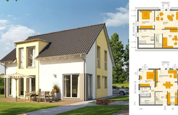 3 Bedrooms Townhouse Design Plan 9×10