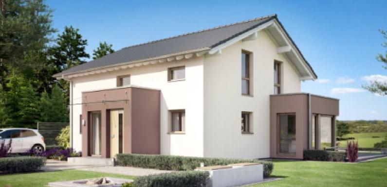 The prefabricated 5 Bedrooms house EVOLUTION 152 V4