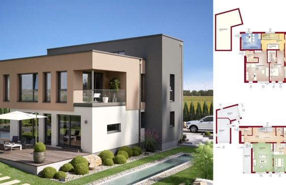 3 Bedrooms Home Design Concept-M 198