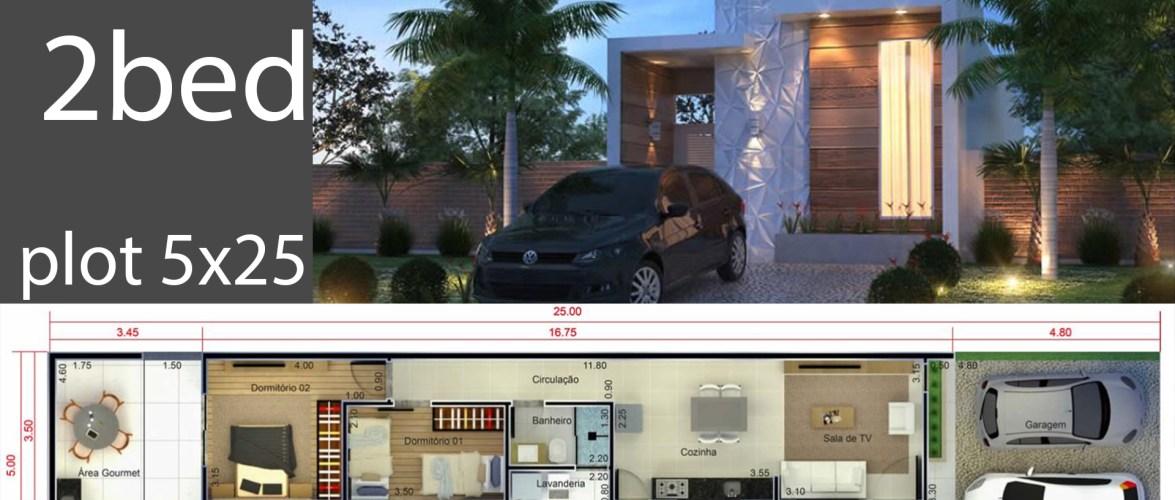 Home Design 5×25 Meters