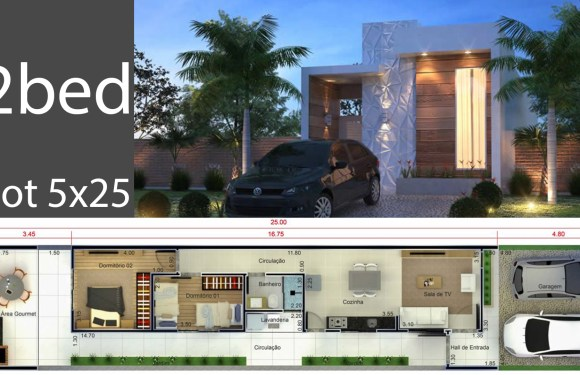 Home Design 5×25 Meters
