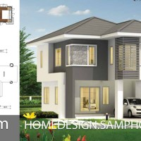 Small Home design 6x9.5m with 2 bedrooms