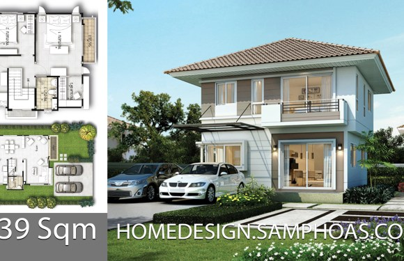 139Sqm 3 Bedrooms Home design idea