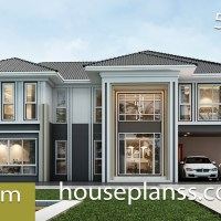 House design Plans 16.5x9 with 5 bedrooms