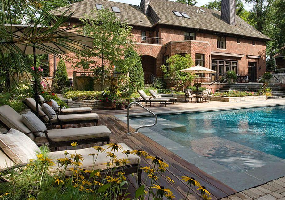 Cool Backyard Swimming Pools Square Design Small Swimming ... on Square Backyard Design Ideas id=17370