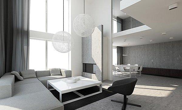 21 Stunning Minimalist Modern Living Room Designs for a ... on Minimalist Room Design  id=58145