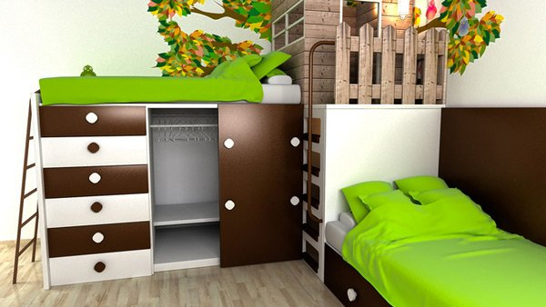 Simply Nice Child's Bedroom Design
