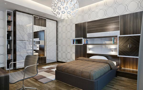 15 Cool and Well-Expressed Teen Bedroom Collection | Home ... on Classy Teenage Room Decor  id=98421