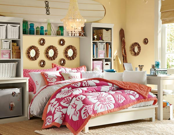 15 Cool and Well-Expressed Teen Bedroom Collection | Home ... on Room For Girls  id=99873
