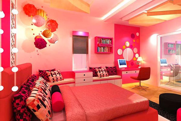 20 Pretty Girls' Bedroom Designs | Home Design Lover on Beautiful Room Design For Girl  id=97313