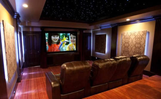 12 Truly Entertaining Home Theater Designs   Home Design Lover Home Theater Designs