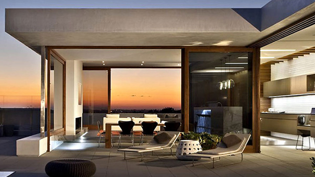 The Modern Chic Harborview Hills Residence In Newport Beach California Home Design Lover