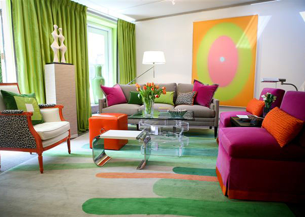 15 Colorful Living Room Designs for a Dynamic Look   Home ... on Colourful Living Room  id=34114