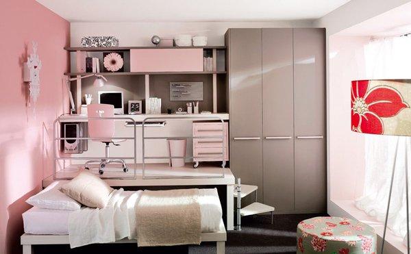 20 Stylish Teenage Girls Bedroom Ideas   Home Design Lover on Teenage Room Design Girl  id=61147