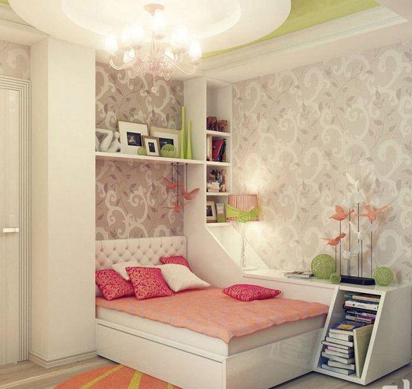 20 Stylish Teenage Girls Bedroom Ideas   Home Design Lover on Bedroom Ideas Teenage Girl  id=90776