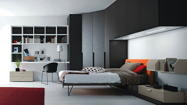 20 Teenage Boys Bedroom Designs | Home Design Lover on Small Bedroom Ideas For Boys  id=18339