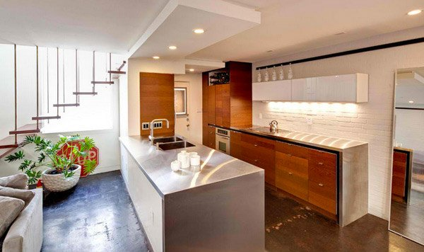 15 Simple And Minimalist Kitchen Space Designs Home Design Lover