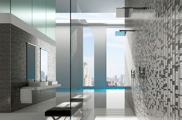 16 Unique Mosaic Tiled Bathrooms