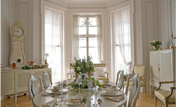 20 Elegant White Dining Room Designs Home Design Lover
