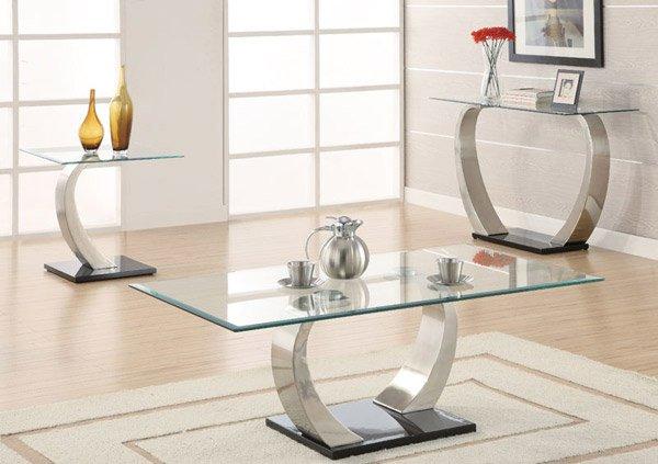 15 stylish rectangular glass top coffee