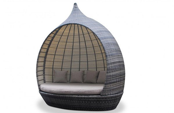 Make Outdoor Living Comfy with 15 Rattan Daybeds   Home ... on Belham Living Lilianna Outdoor Daybed id=39007