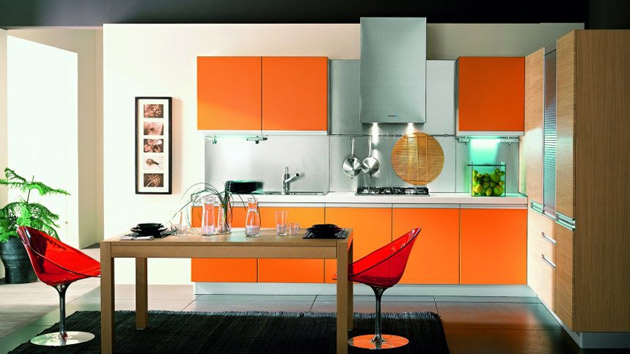 Living Room Kitchen Color Combinations