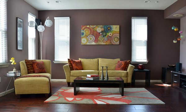 15 Interesting Living Room Paint Ideas | Home Design Lover on Room Painting id=37180